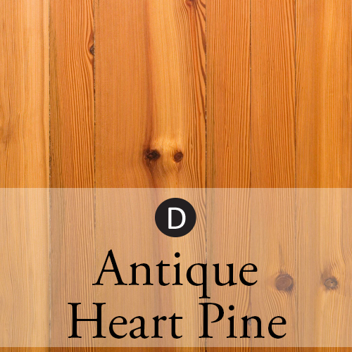 antique heart pine