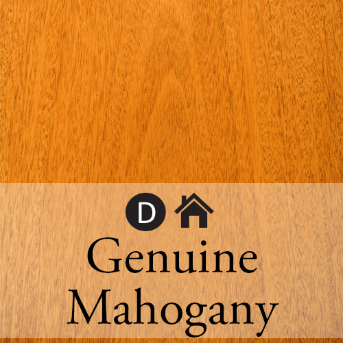 genuine mahogany